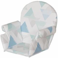 Coussin de chaise haute Plus rabats prisme