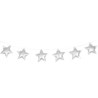 Guirlande étoiles argentées  par Cotton&Sweets