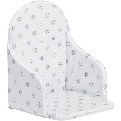 Coussin de chaise haute étoile gris  par Babycalin