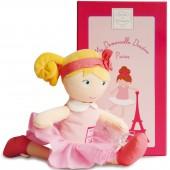 Poupée en tissu Les demoiselles Paris Louise (28 cm) - Doudou et Compagnie