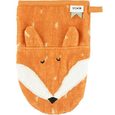 Gant de toilette renard Mr. Fox  par Trixie