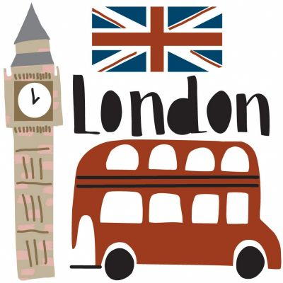 Stickers muraux London  par Mimi'lou