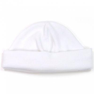 Bonnet de velours blanc (naissance)  par Cambrass