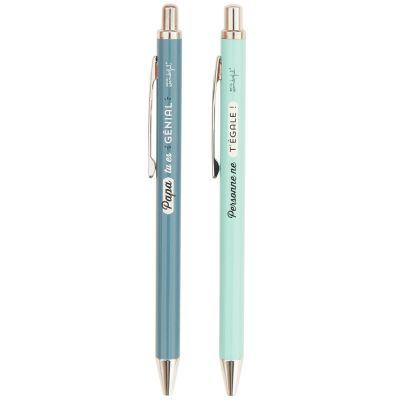 Lot stylo et porte-mines Fête des Pères