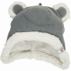 Bonnet ours gris Botanimal (6-12 mois)