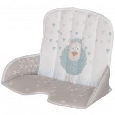 Coussin de chaise haute tissu Tamino mouton