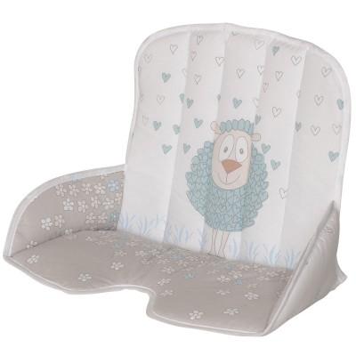 Coussin de chaise haute tissu Tamino mouton Geuther