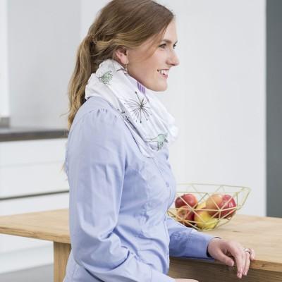 divers design mode designer grossiste Écharpe d'allaitement colibri