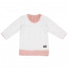 Tee-shirt réversible Poppy Red (4-6 mois)