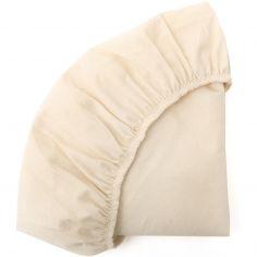 Drap housse pour berceau Kumi milk (68 x 40 cm)