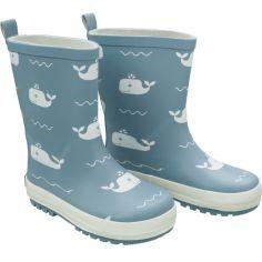 Bottes de pluie Baleine bleue (pointure 23)