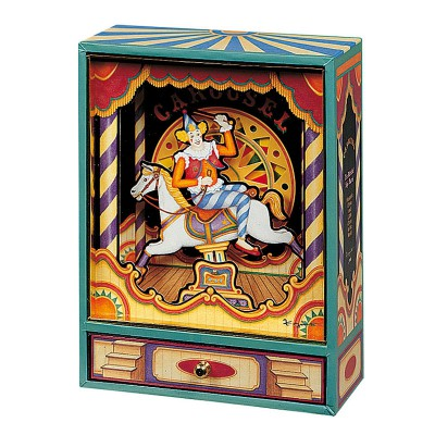 Grand carrousel Musical Clown  par Trousselier