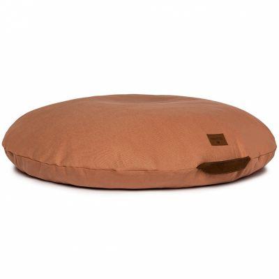 Coussin de sol Sahara Pure Line sienna brown  par Nobodinoz