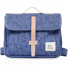 Cartable maternelle ours Blue bear