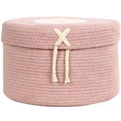 Panier de rangement Candy Box rose (20 x 30 cm)