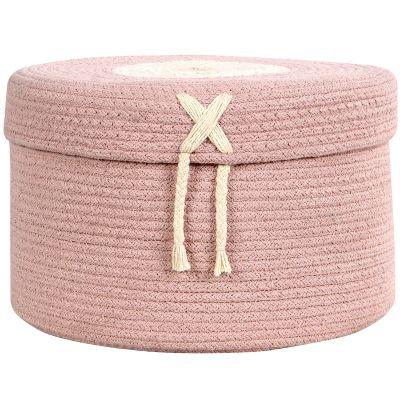 Panier de rangement Candy Box rose (20 x 30 cm) Lorena Canals