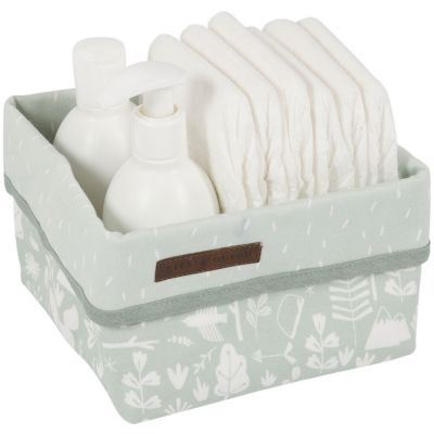 Panier de toilette Adventure mint (15 x 15 cm)  par Little Dutch