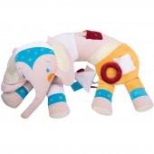 Cale bébé assis d'éveil Elephant - L'oiseau bateau