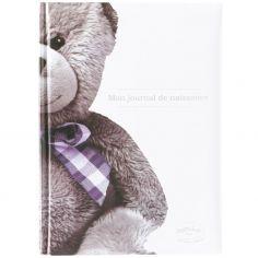Mon journal de naissance Ourson blanc (40 pages)