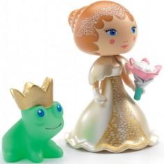 Figurine Blanca et sa grenouille