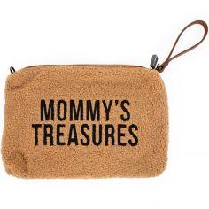 Pochette Mommy Clutch Teddy beige - Childhome