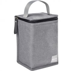 Sac isotherme gris chiné