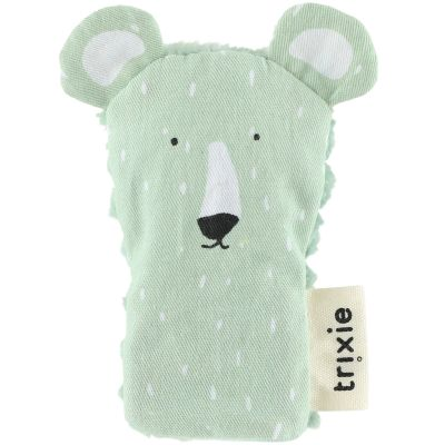 Marionnette à doigt Mr. Polar Bear  par Trixie