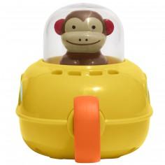 Jouet de bain sous-marin singe