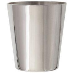 Timbale Menton personnalisable (métal argenté)