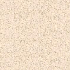 Papier peint motif pois irréguliers gold fond corail (10 m)
