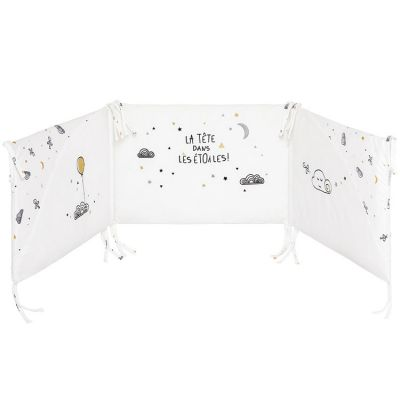 Tour de lit Etoile filante (pour lits 60 x 120 et 70 x 140 cm)  par Little Band