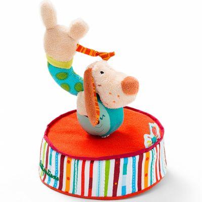Boîte à musique Jef le chien (18 x 15 cm) Lilliputiens