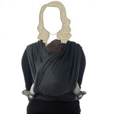 Echarpe de portage BB-Slen coton bio moonshadow (4,2 mètres)