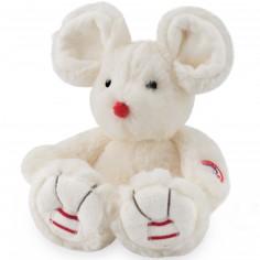Peluche petite souris Rouge Kaloo ivoire (20 cm)