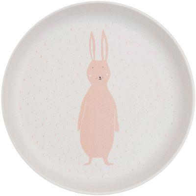 Assiette plate Mrs. Rabbit  par Trixie