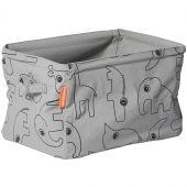Panier de rangement tiroir Contour gris - Done by Deer