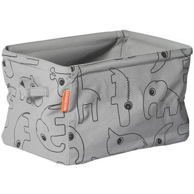 Panier de rangement tiroir Contour gris  par Done by Deer