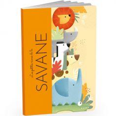 Livre + jouets en bois Savane