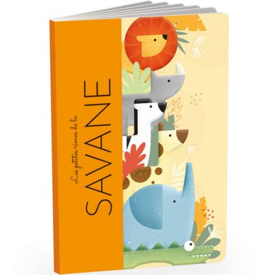 Livre + jouets en bois Savane Sassi Junior