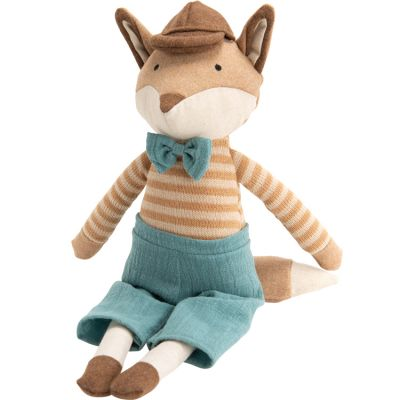 Peluche Gaspard petit renard (43 cm)  par Amadeus Les Petits