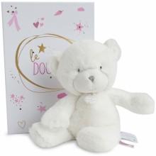 Peluche pantin ours rose Le Doudou (26 cm)  par Doudou et Compagnie
