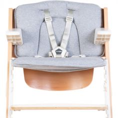 Coussin pour chaise haute Lambda Kitgrow jersey gris
