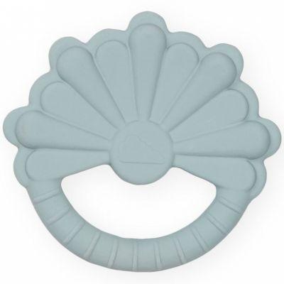 Anneau de dentition en caoutchouc fleur bleu  par Cam Cam Copenhagen