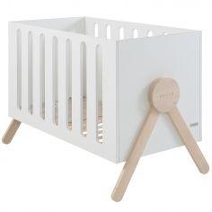 Lit bébé Swing blanc (60 x 120 cm)