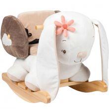 Bascule Mia le lapin  par Nattou