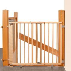 Barrière de sécurité Plus pour escalier naturel (67 à 107 cm)