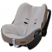 Housse pour siège-auto groupe 0+ Cable Soft taupe - Baby's Only