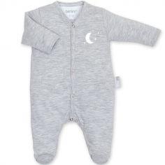 Pyjama léger gris clair Bmini (0-1 mois : 50 cm)