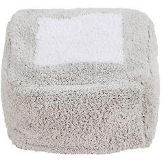 Coussin de sol pouf Marshmallow Square gris