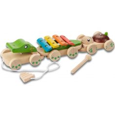 Crocodile musical à tirer